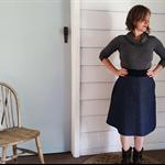 Denim Pocket Skirt